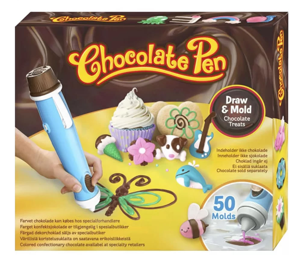 Chocolate Pen Candy Craft Real Baking Write Mould & Decorate in ...