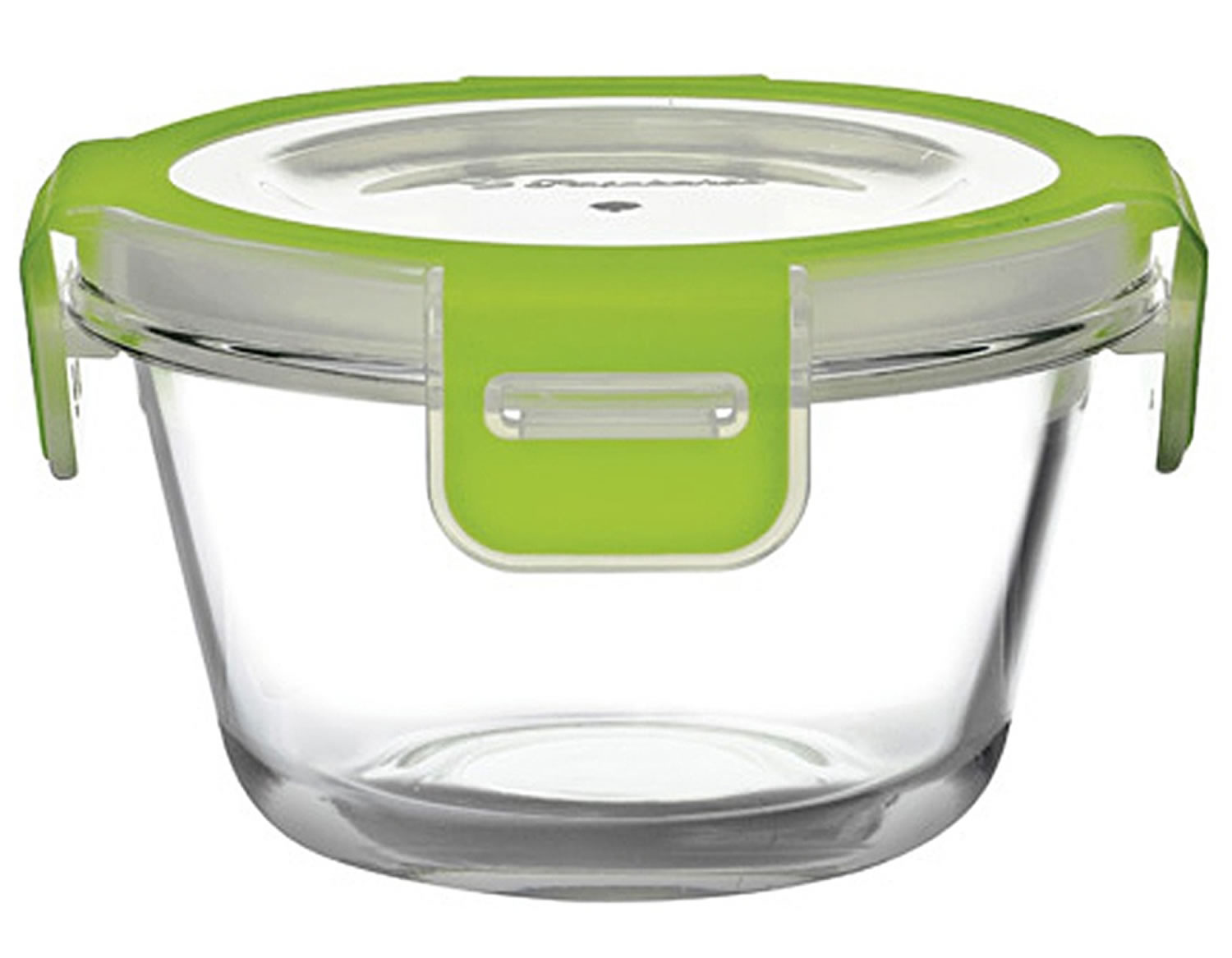 pasabahce storemax glass food container green lid lunch. Black Bedroom Furniture Sets. Home Design Ideas