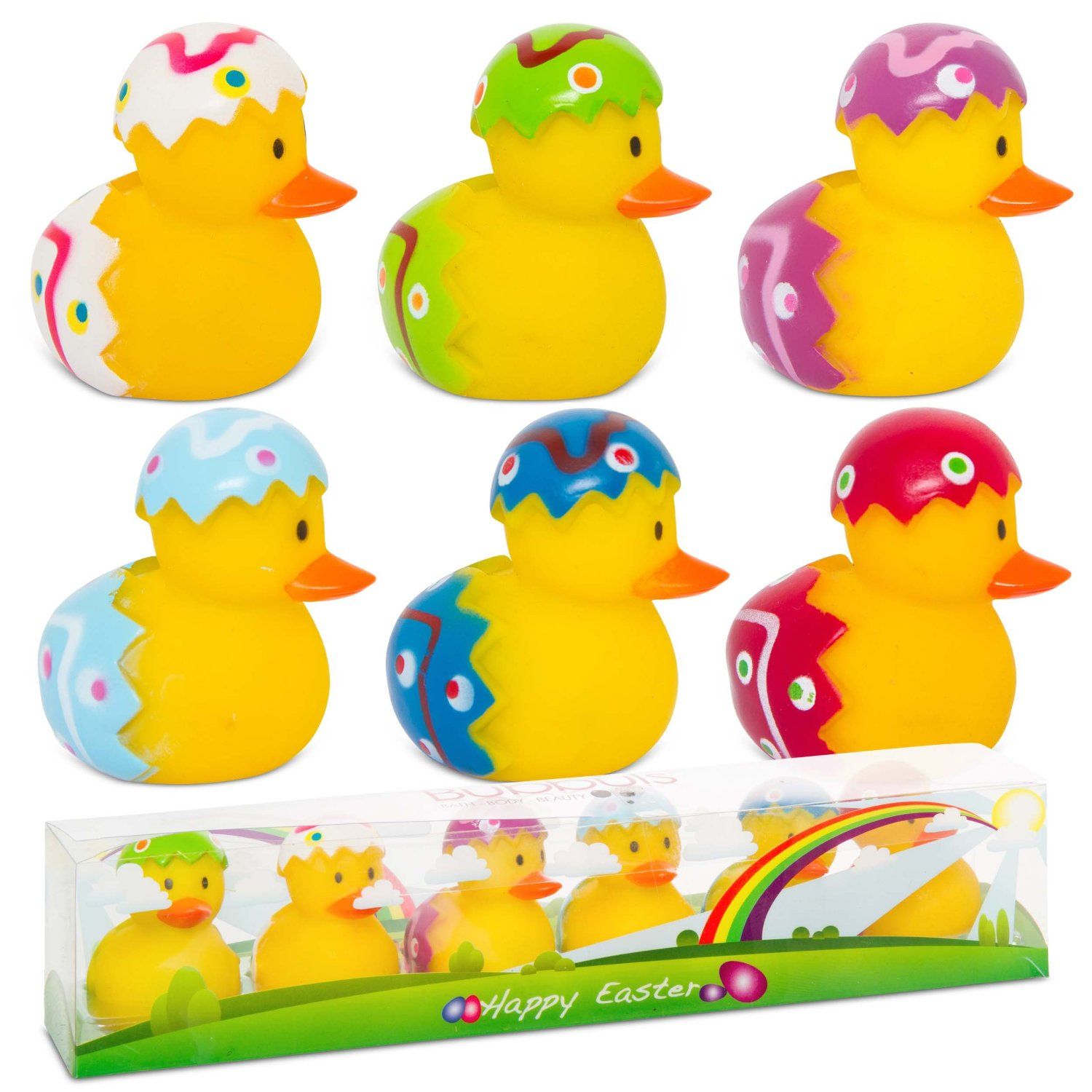 Fun Time Toys : Easter floating gift water small kids yellow bath fun