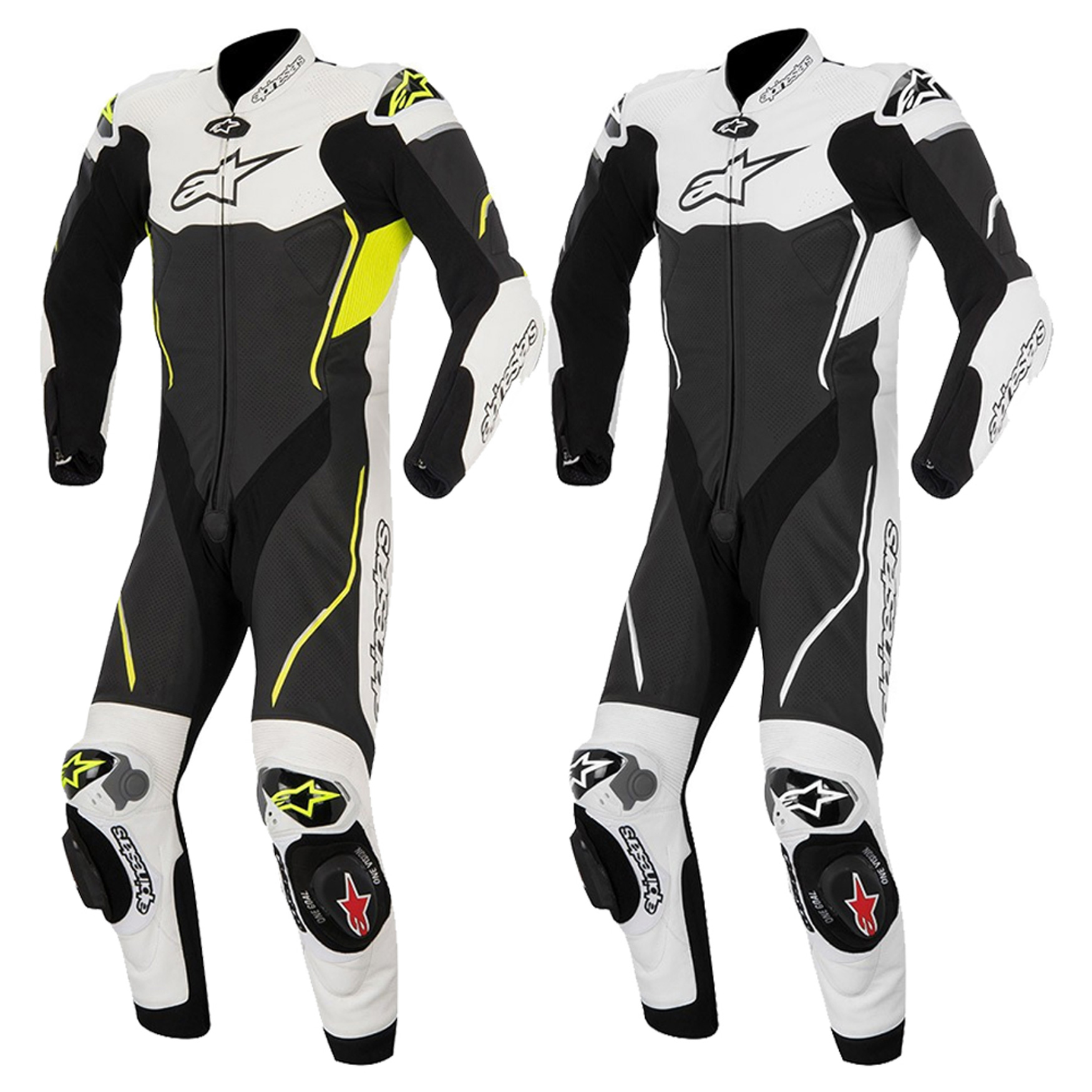 New Alpinestars Motorcycle Bike Atem Leather Racing Full Body Suit