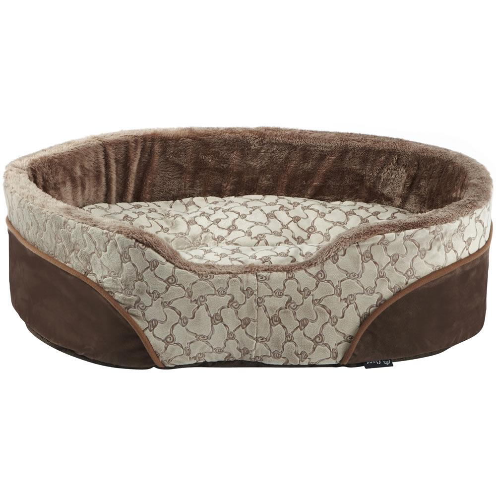Bunty Dog Bed Cream