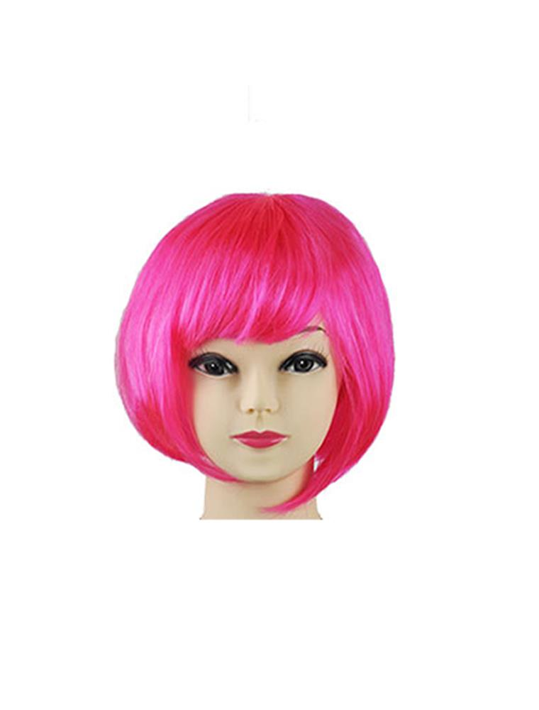 Womens-Ladies-Short-Bob-Fancy-Dress-Full-Hair-Clip-Wig-Costume-Cosplay-Party