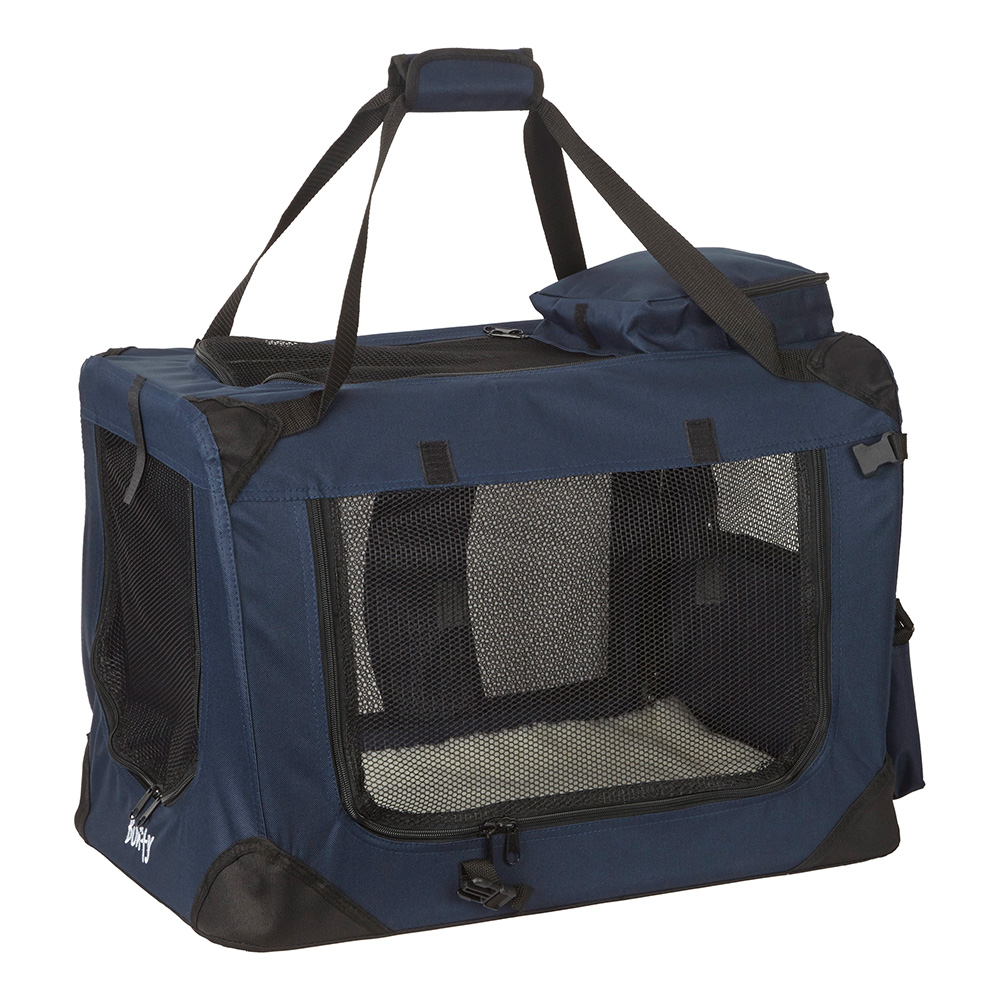 Dog Cat Rabbit Puppy Carrier Crate Bed Portable Pet Kennel