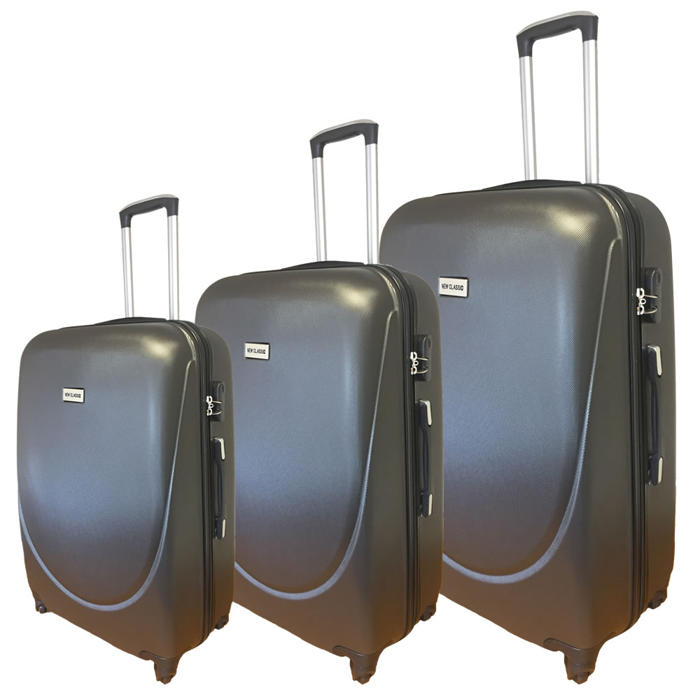 abs light hard shell cabin hand hold luggage travel case. Black Bedroom Furniture Sets. Home Design Ideas