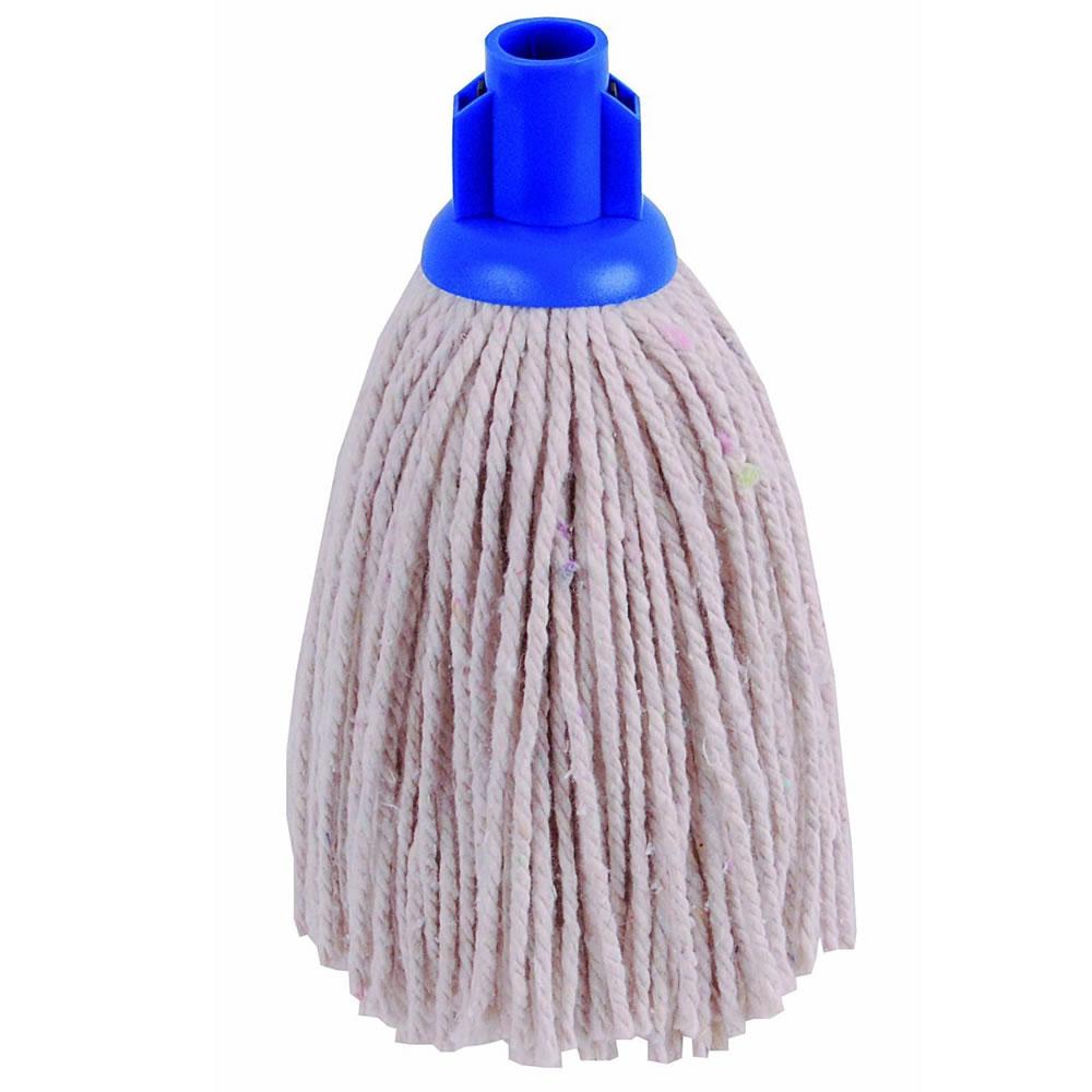 Heavy Duty Replacement Cotton Floor Mop Head Screw Socket Type Blue ...