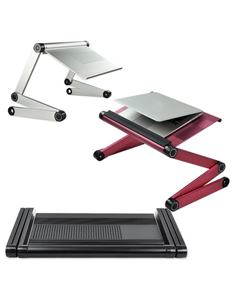 adjustable folding laptop netbook computer office table desk stand tray bed sofa ebay. Black Bedroom Furniture Sets. Home Design Ideas