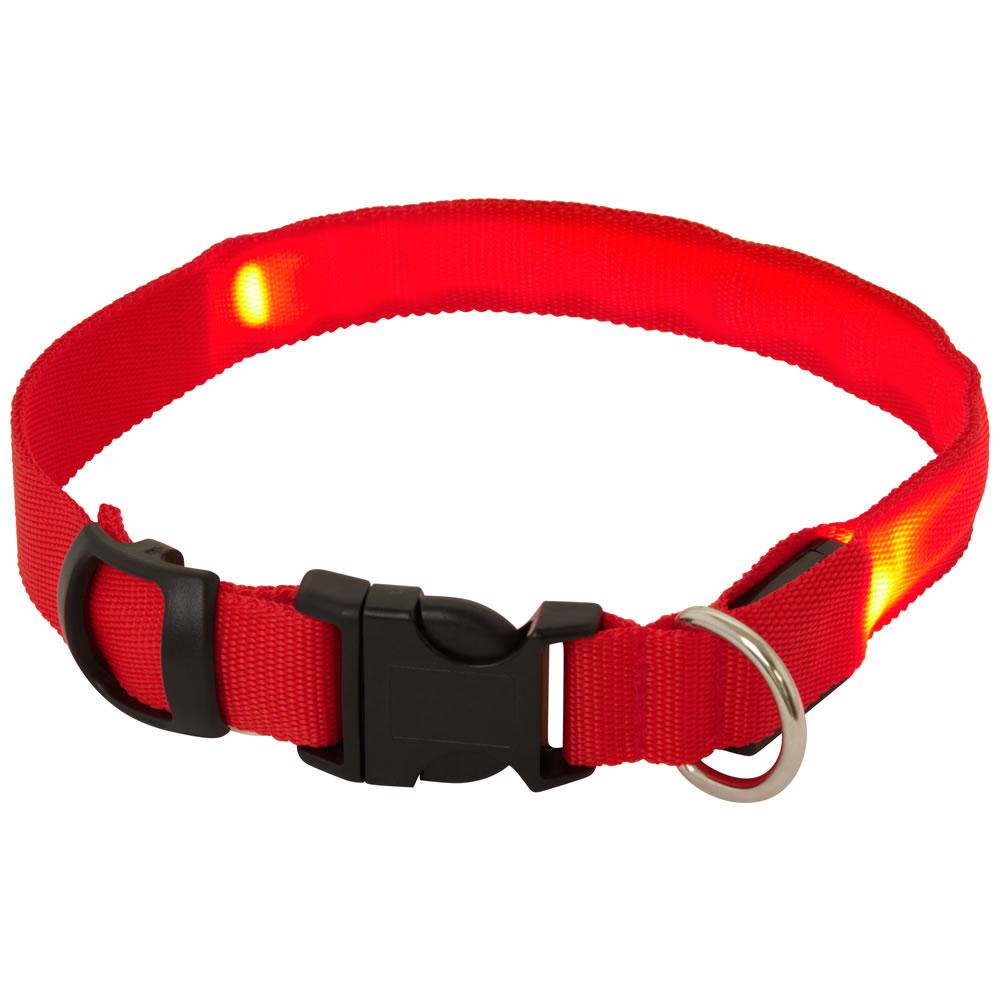 Flashing Clip On Led Dog Collar