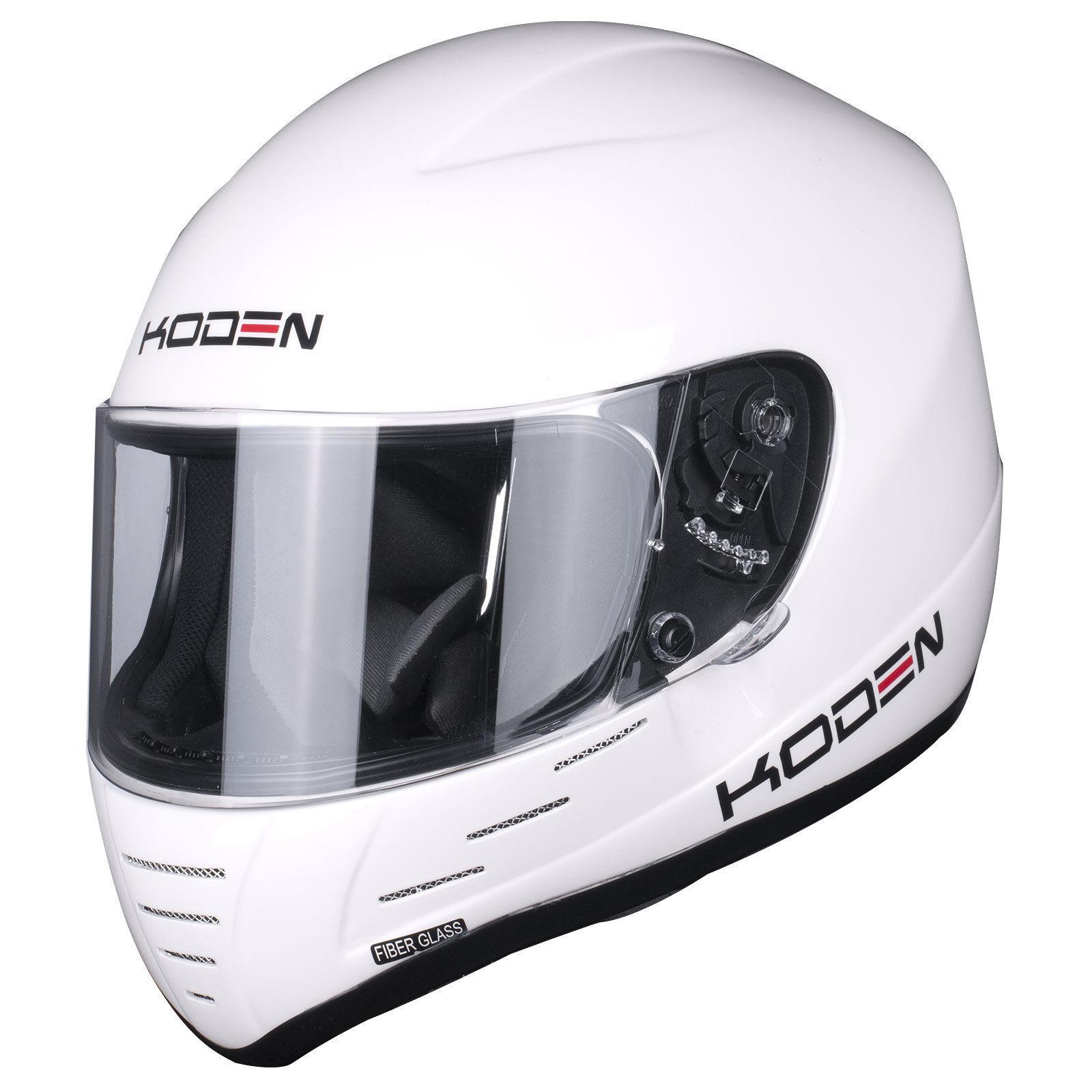 Sparco Club X1 Helmet >> Koden Kart K2010 Race Track Racing Crash Helmet Gloss Black Matt Black White | eBay