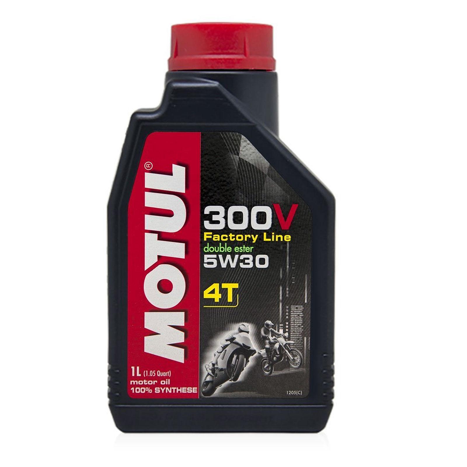 motul 300v 4t factory line 5w 30 100 synthetic motorcycle engine oil 1 litre l ebay. Black Bedroom Furniture Sets. Home Design Ideas