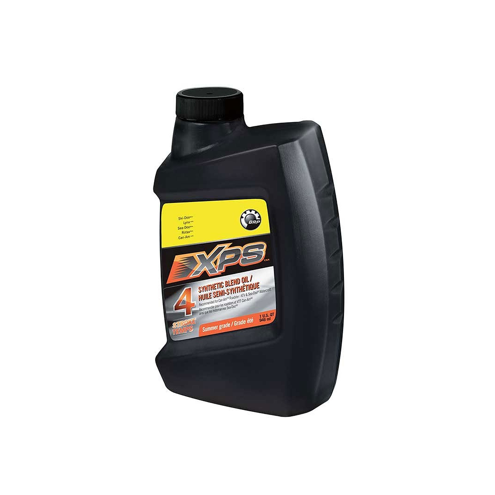 Can Am Spyder Semi Synthetic Blend Engine Oil 4t 1 Quart 946ml Can Am 293600121 Ebay