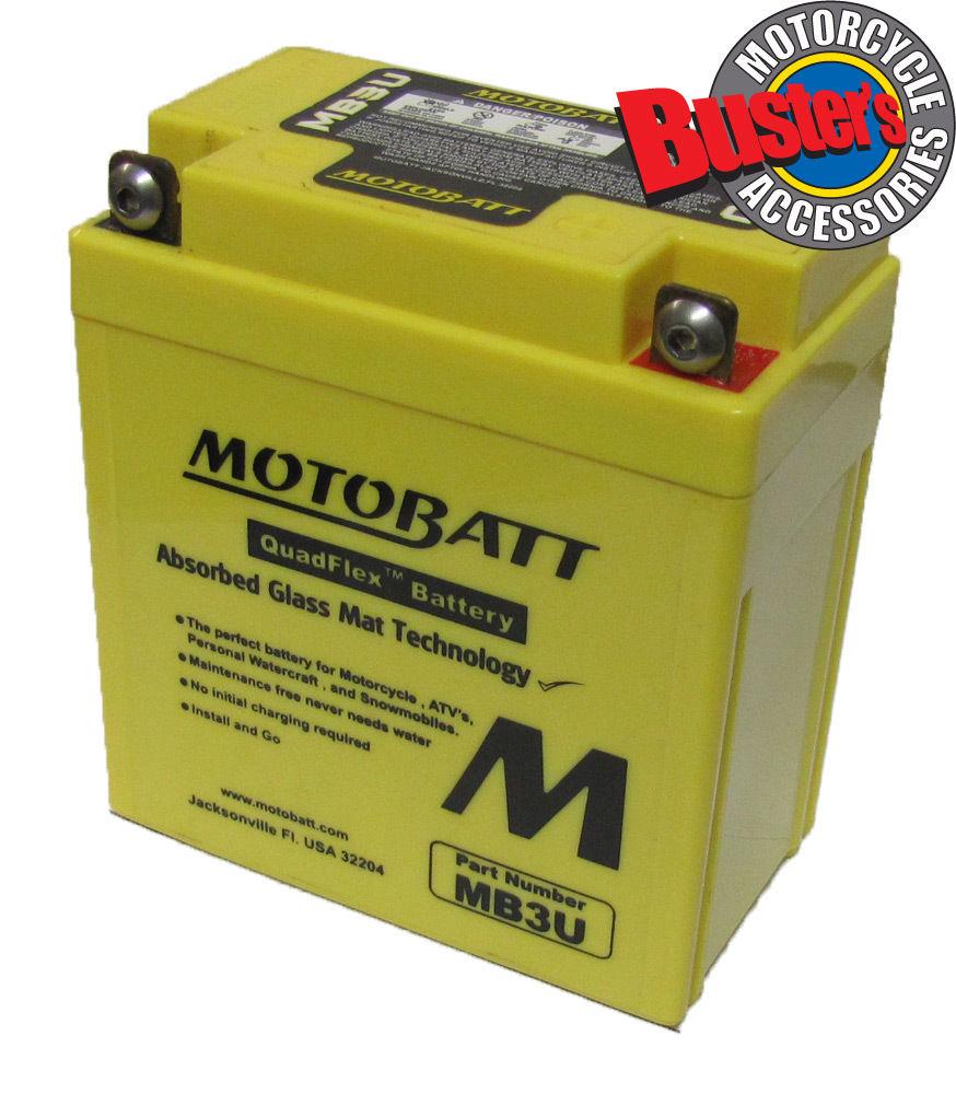 Yamaha dt 125 re 2004 cb3l a motobatt motorcycle battery for Yamaha motorcycle batteries