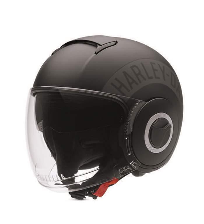 harley davidson commuter open face helmet ebay. Black Bedroom Furniture Sets. Home Design Ideas