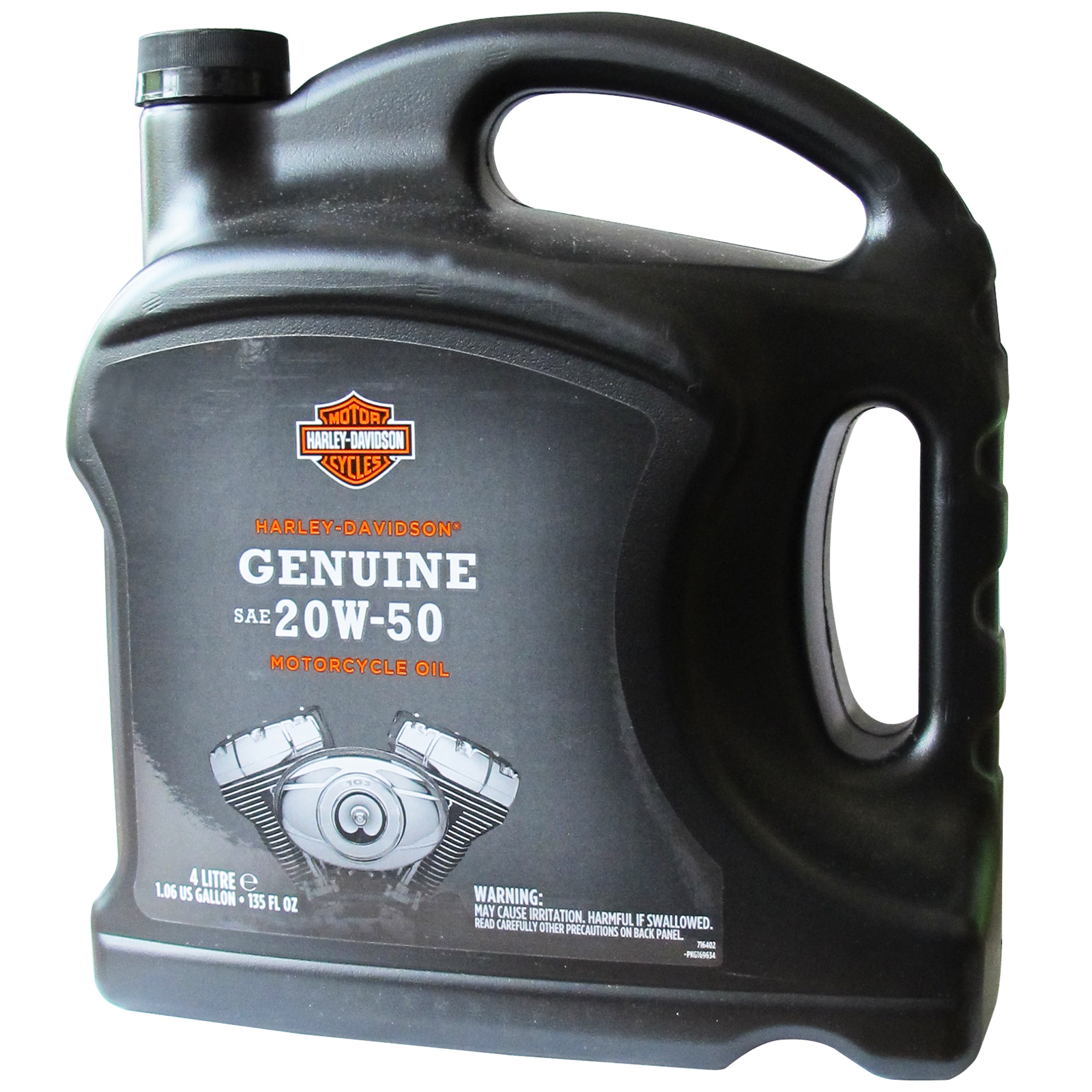Genuine harley davidson h d 360 motorcycle oil 20w50 4 for 20w50 motor oil temperature range
