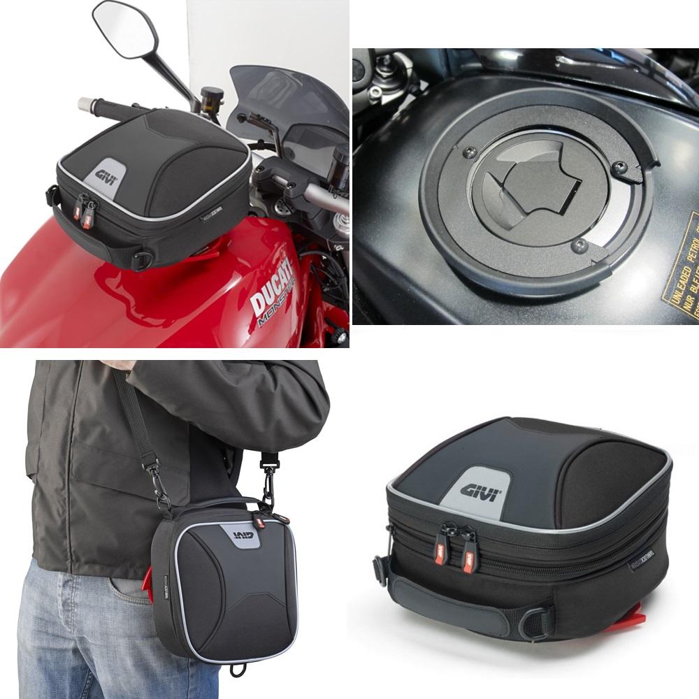 Honda Vfr 800 F 2014 Givi Xs319 Tanklock Bag Amp Flange Ebay