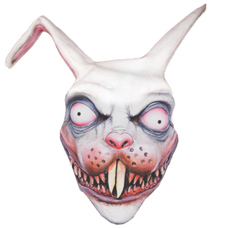 Frankenbunny Scary Rabbit Mask Great for Halloween Horror Fancy ...