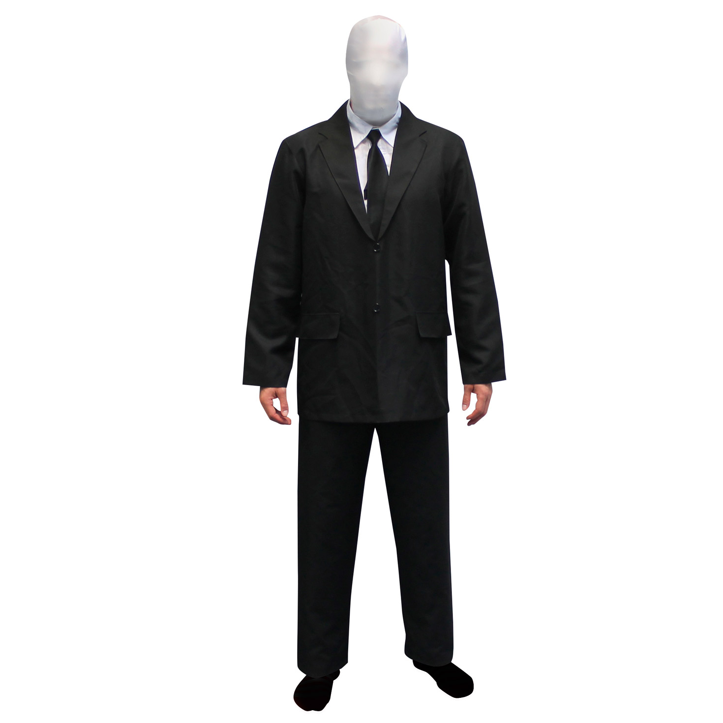 morphsuits scary slender man fancy dress costume slenderman for halloween - Halloween Costume Slender Man