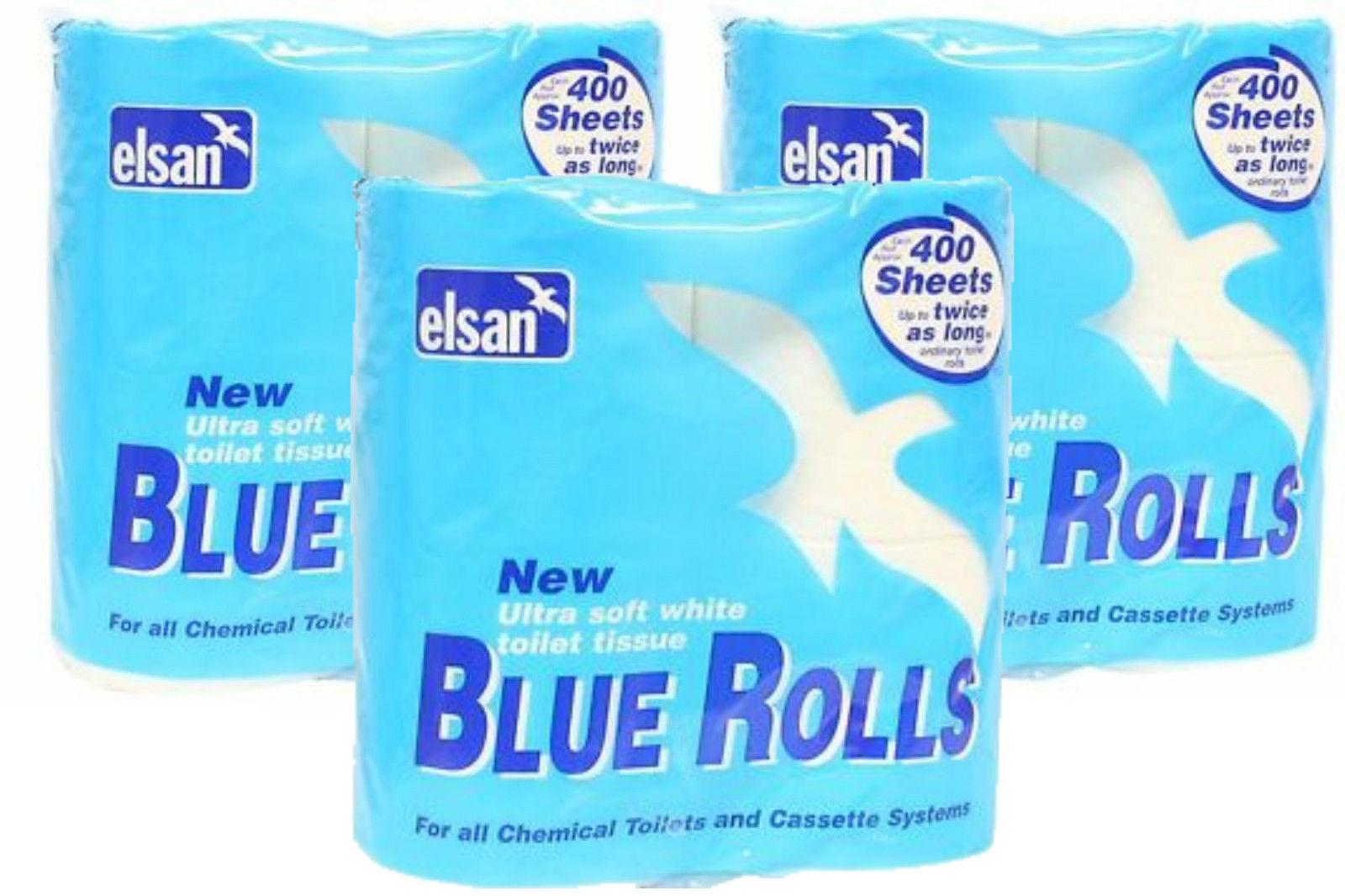 bulk buy elsan caravan formula toilet rolls upto as 12 rolls ebay