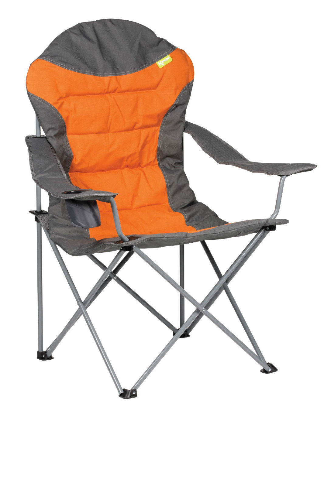 Kampa XL High Back Folding Camping Chair Burnt Orange