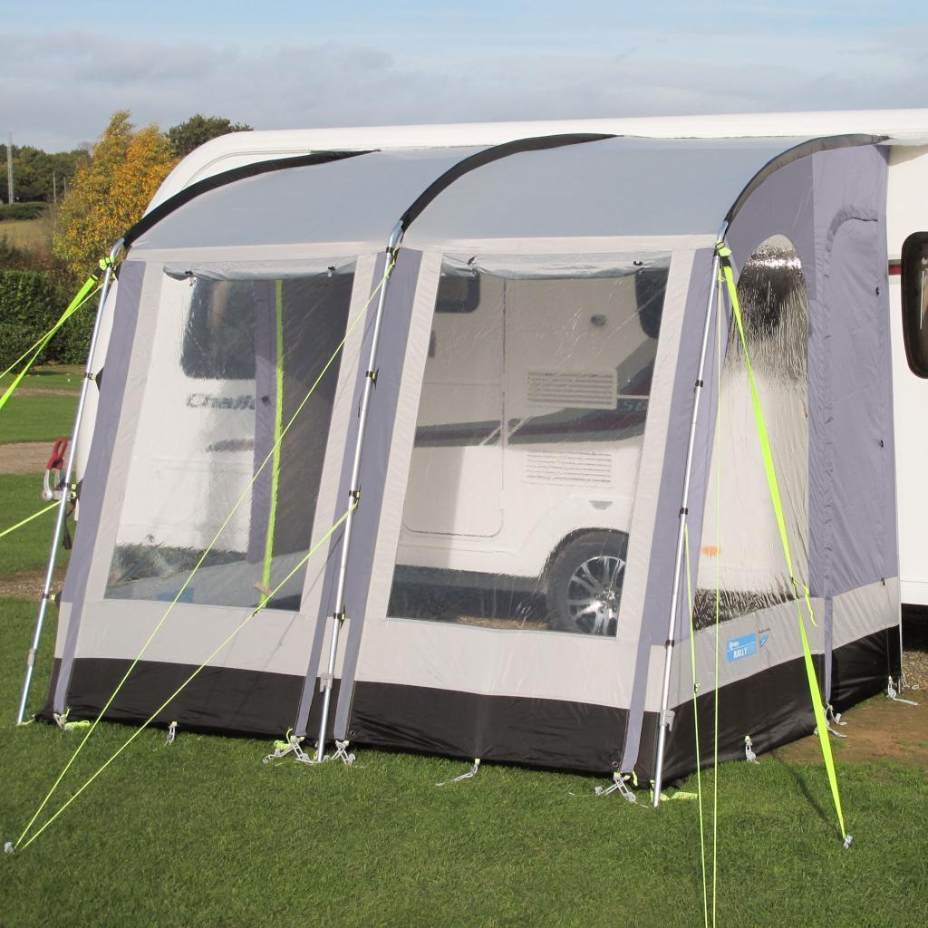 Kampa Rally 260 Lightweight Caravan Porch Awning - Pearl ...