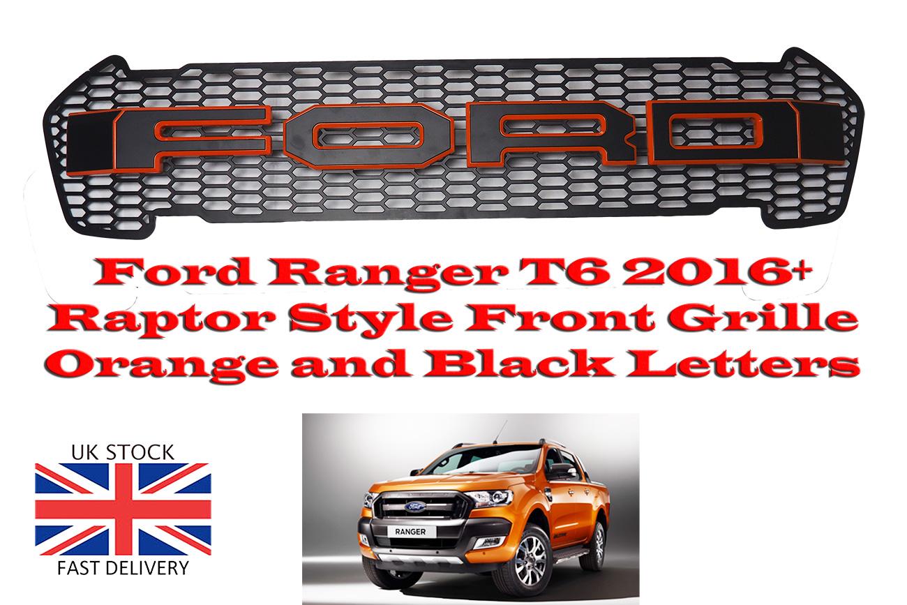 ford ranger t6 grill raptor stil k hlergrill und schwarz. Black Bedroom Furniture Sets. Home Design Ideas