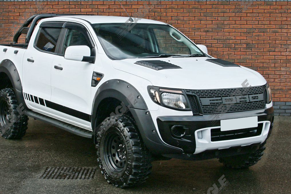 ford ranger ground clearance