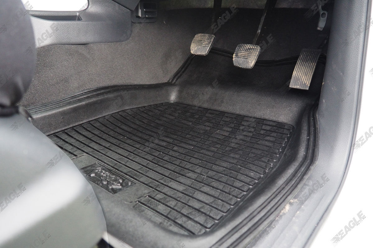 Nissan Navara Np300 Deep Tray Rubber Floor Mats Car Mats