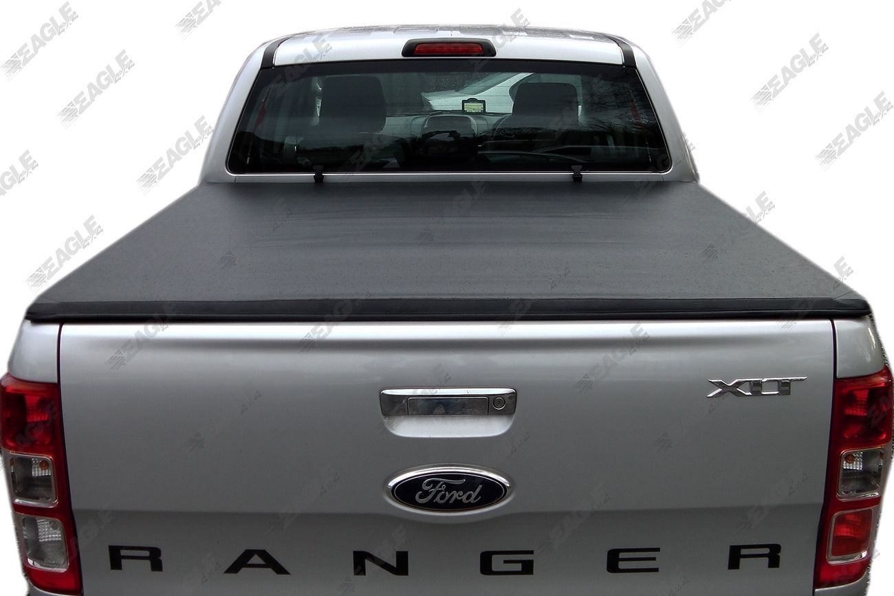 New Ford Ranger T6 Soft Folding Tonneau Cover Fits With