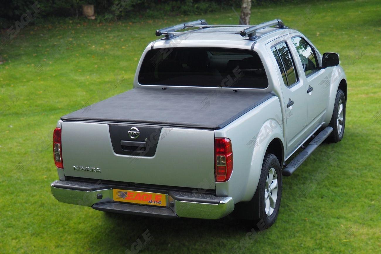 Navara Modification >> Nissan Navara D40 Soft Roll Up Tonneau Bed Cover Eagle1 Premium Soft Roll & Lock   eBay