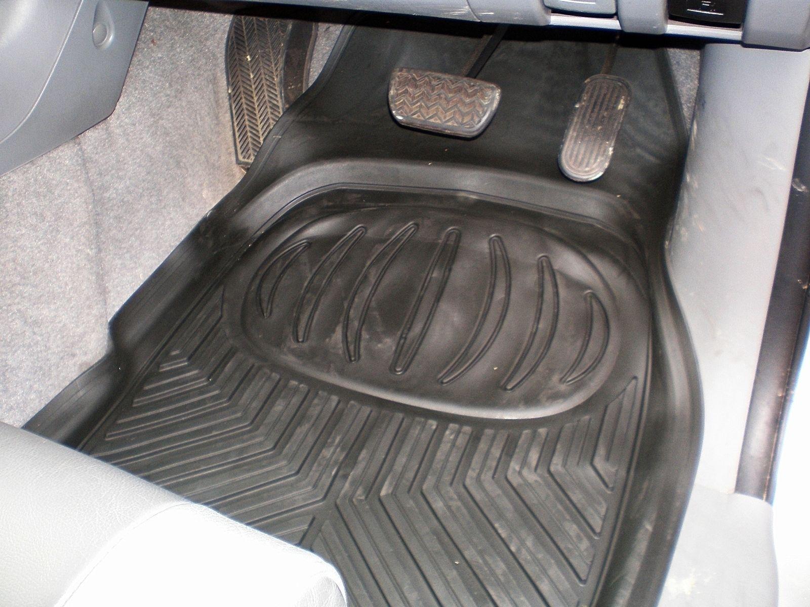 Ford Ranger Dirt Catcher Floor Mats Deep Tray Rubber Mud