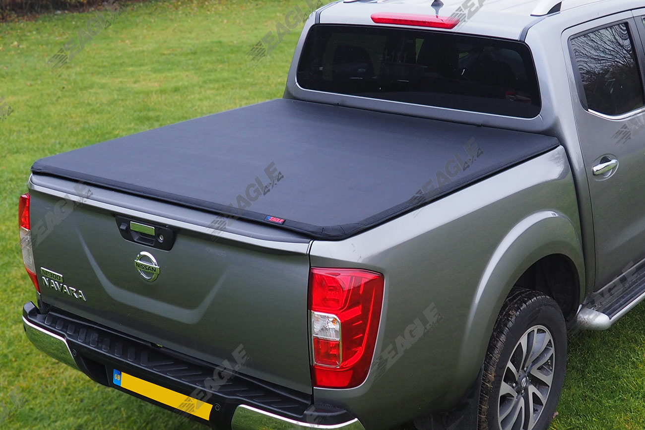 2016 nissan navara np300 eagle1 soft roll lock premium tonneau bed cover ebay. Black Bedroom Furniture Sets. Home Design Ideas