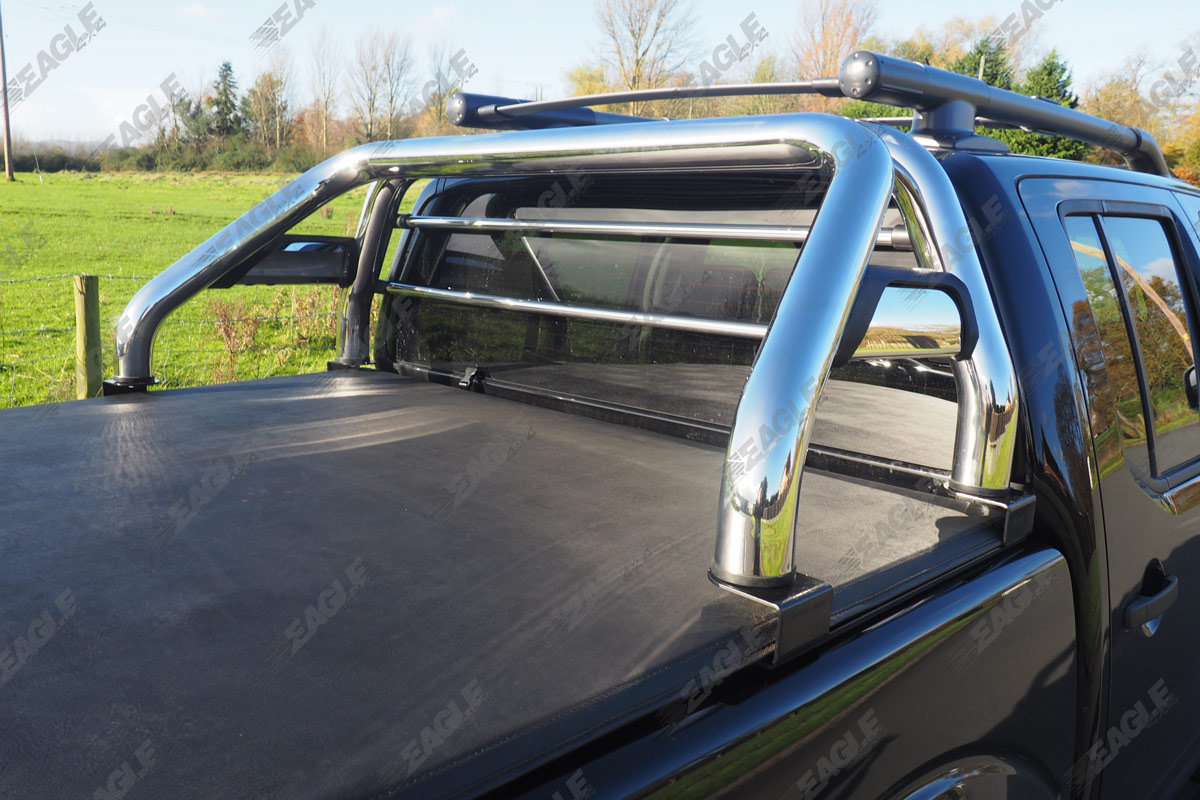 nissan navara d40 hawk roll bar fits with tonneau covers. Black Bedroom Furniture Sets. Home Design Ideas