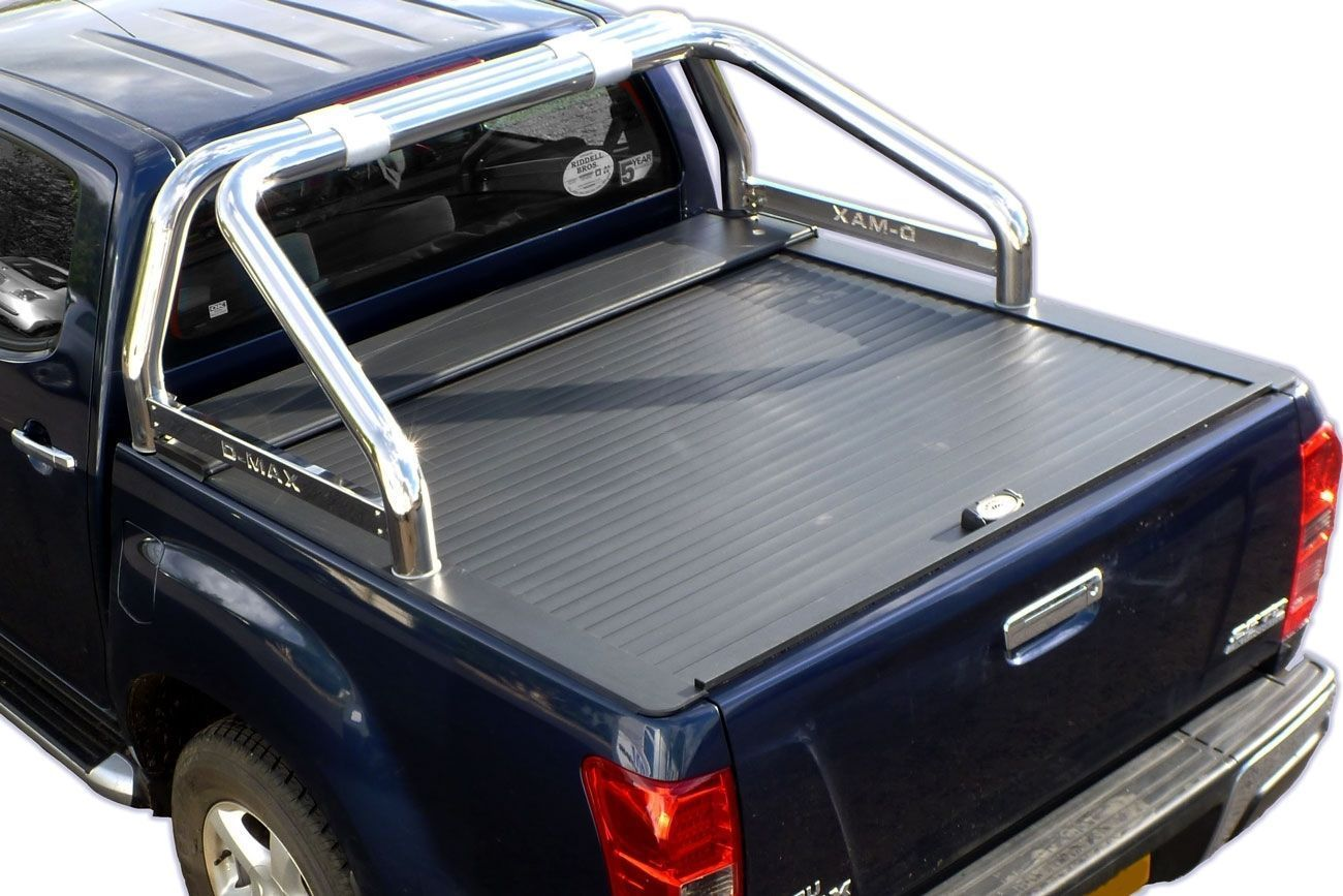 armadillo roll top tonneau cover ford ranger isuzu dmax toyota hilux vw ebay. Black Bedroom Furniture Sets. Home Design Ideas