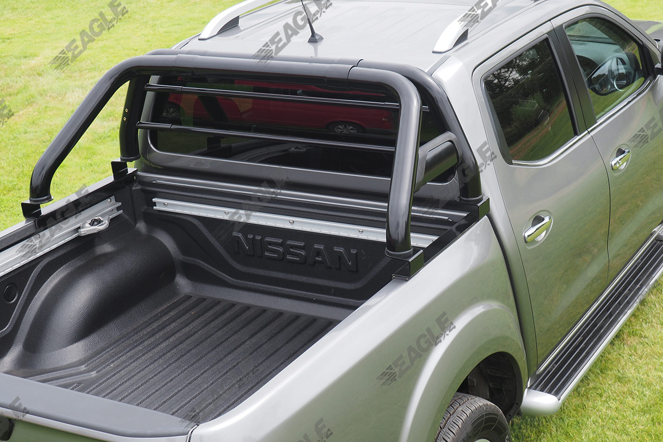 Mitsubishi L200 Black Roll Bar Styling Bar Stainless