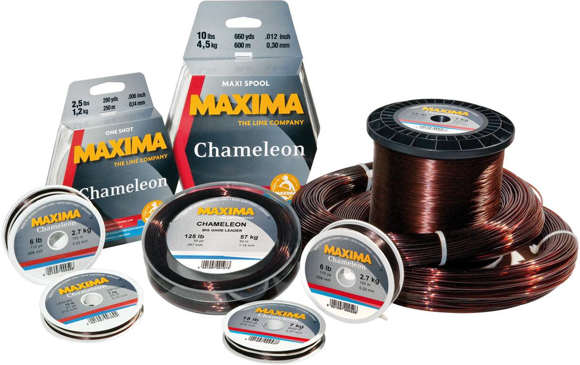 Maxima chameleon fishing line 600m 660 yard spool for Maxima fishing line