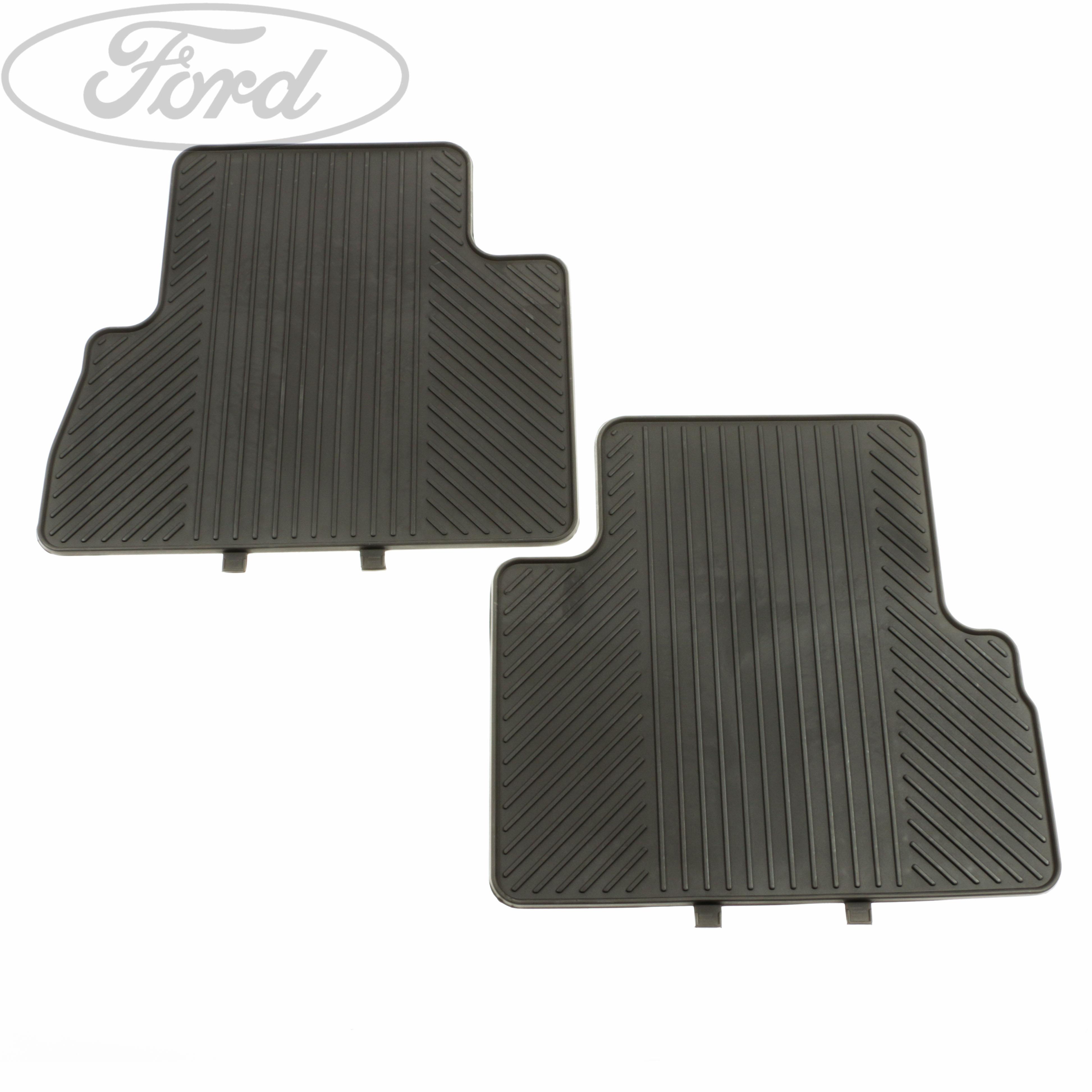 Genuine Ford C Max Mk2 Rear Contour Floor Mat Carpet Set