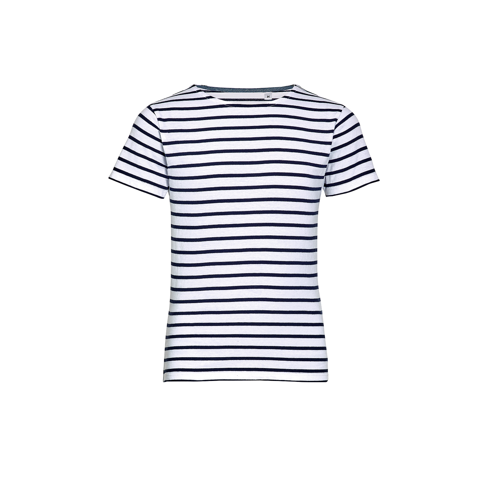 SOL/'S Kids Miles Stripe Short Sleeve T-Shirt Taped Neck Boys Girls Casual Summer