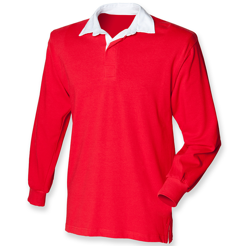 Front Row Long Sleeve Original Rugby Shirt Fr01m Ebay