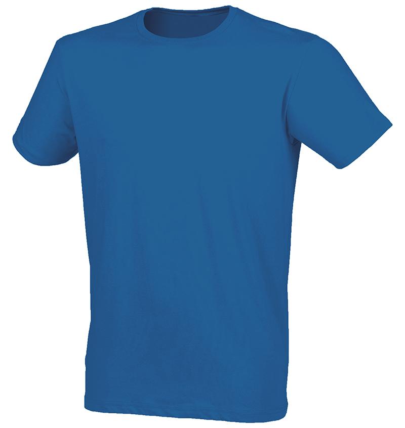 Sf men mens soft stretch crew neck t shirt sf121 short for How to stretch a dress shirt
