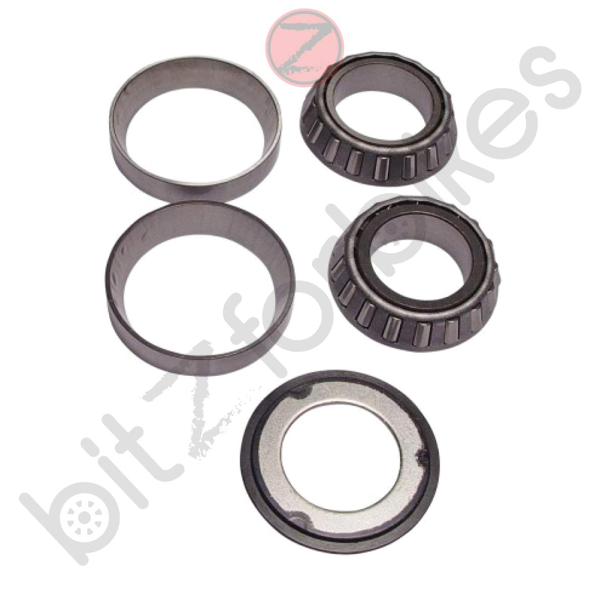 Steering Head Bearing Kit and Dust Seals Honda Z 50 R Cross Monkey 1979 to 1986