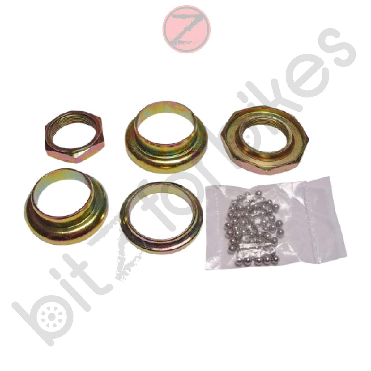 Steering Head Bearing Kit Kymco Vitality 50 2T Cross 2007 to 2008