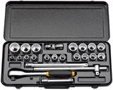 "Elora 50649 770-OKLAU 23 Piece 1/2"" Square Drive Imperial Socket Set"