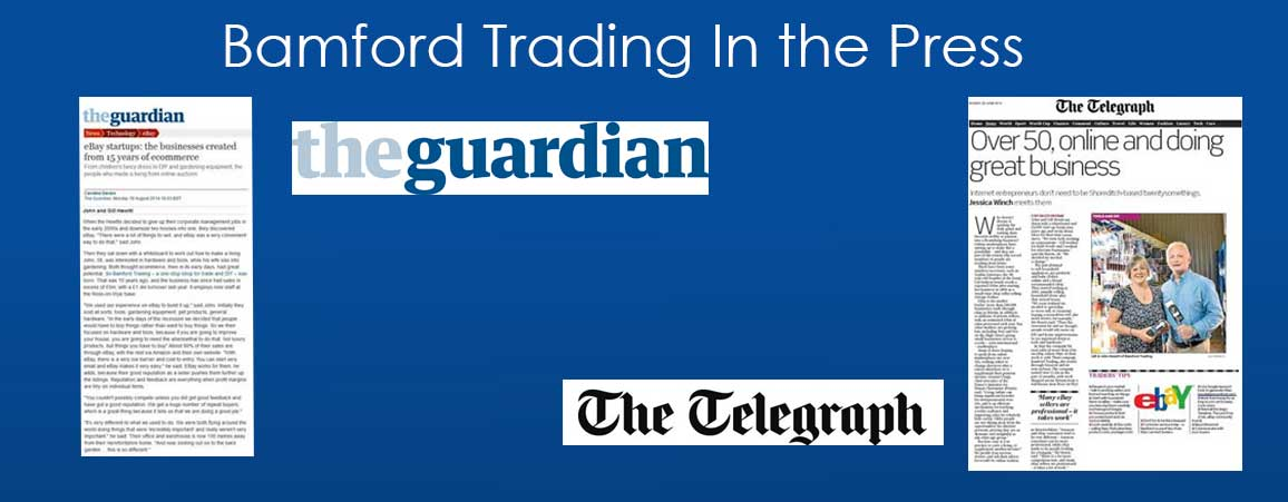 About Bamford Trading in the Press