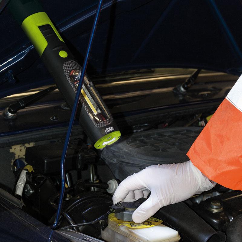Draper Rechargable COB LED Inspection Lamp Worklight Torch