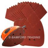 50 Silverline 330967 Hook & Loop Detail Sander Sheets 140mm 120 Grit