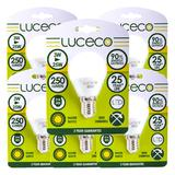 Luceco LED Globe Lamp E14 3.5W 250LM Warm White 2700K Non-Dimmable