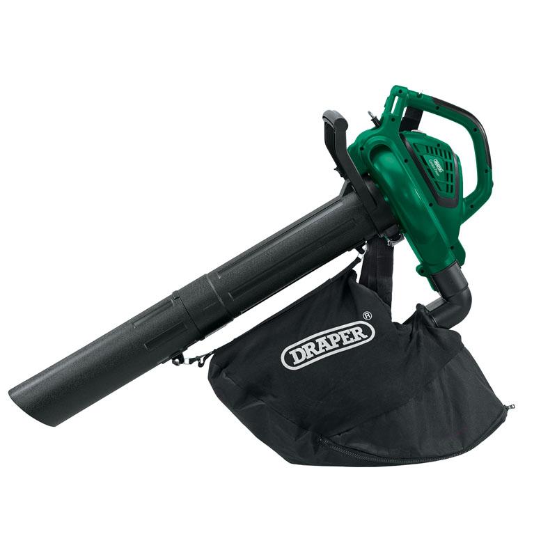 Leaf Blower Vacuum Mulcher : Draper powerful electric garden leaf vacuum mulcher