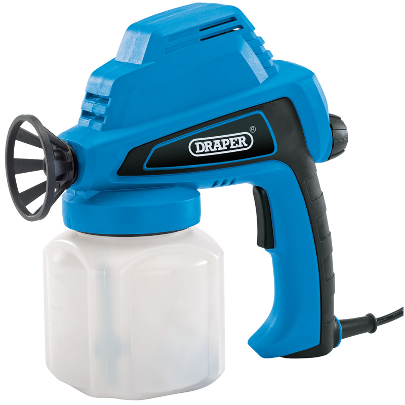 Draper airless electric spray gun shed fence preservative for Spray gun for oil based paints