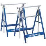 Draper 54053 BT/Y2 Pair of Telescopic Saw Horses or Builders Trestles
