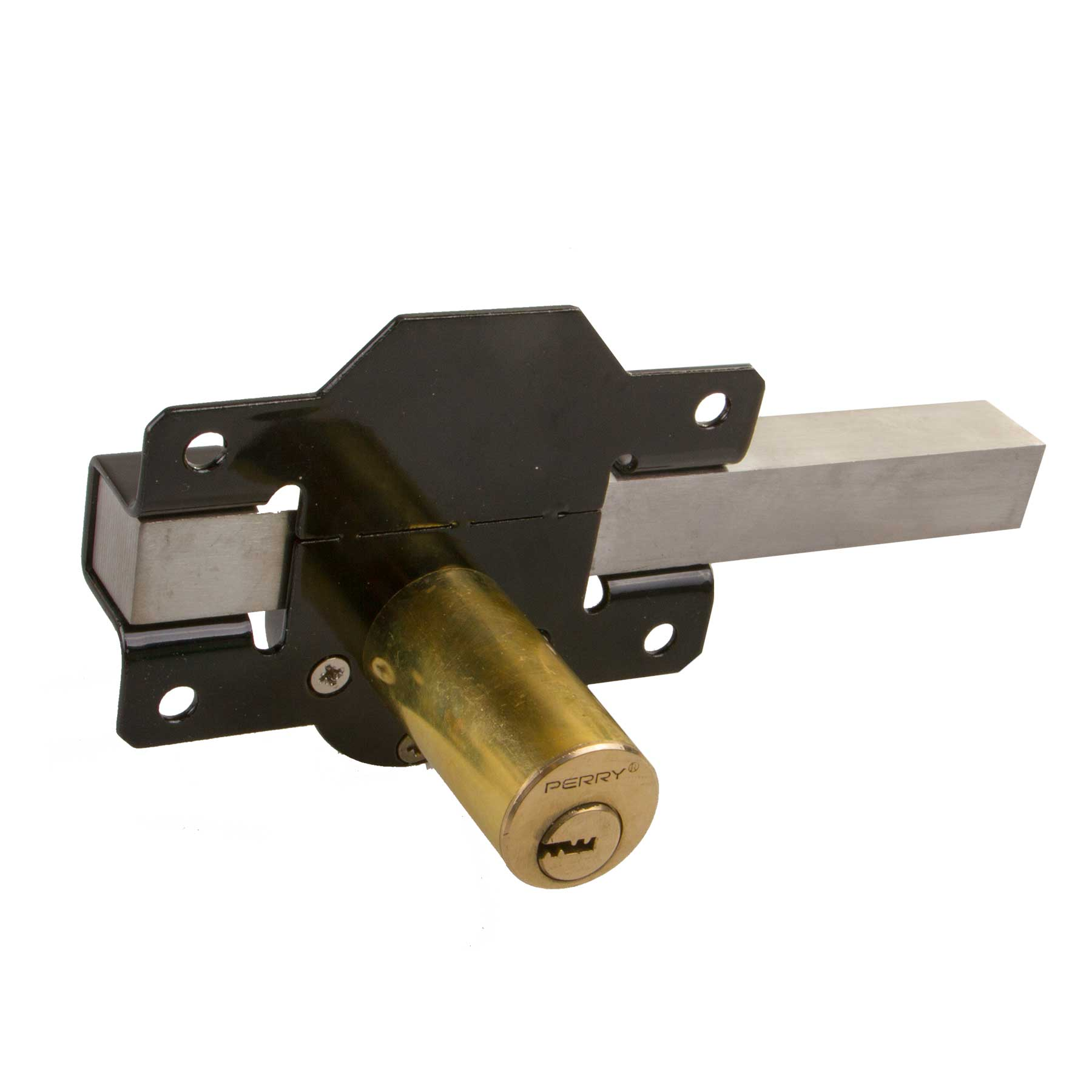 Perry High Security Long Throw Garden Shed Gate Door Lock