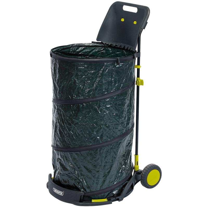 Draper 83778 gwc 150l garden waste cart draper 83778 gwc 150l garden waste cart bamford trading - Collapsible trash bins ...